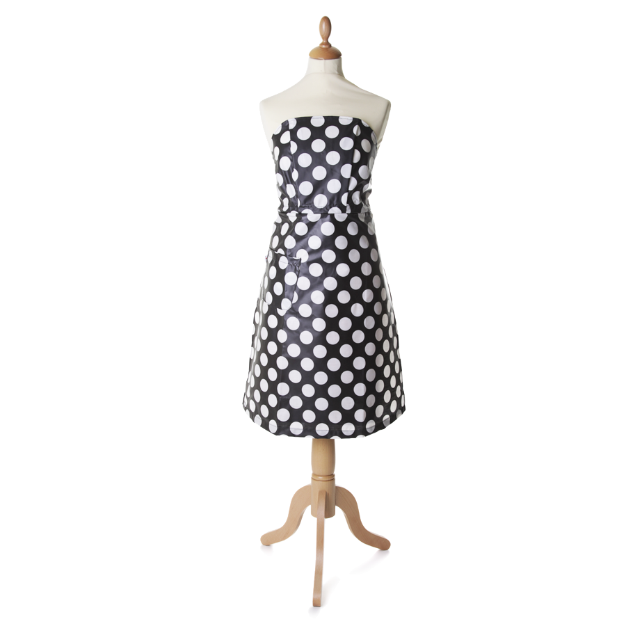 Tortini Kitchen Dress Puntini Bianchi