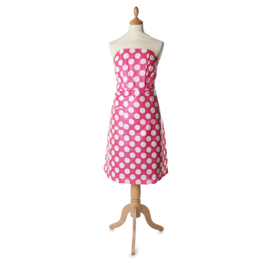 Tortini kitchen dress Puntini Rosa