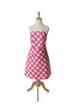 Tortini Kitchen Dress Puntini Rosa Bambini