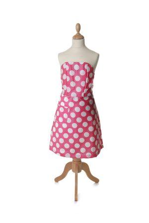 Tortini Kitchen Dress Puntini Rosa Bambini